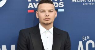 Kane Brown Fell off Stage