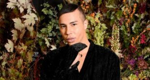 Olivier Rousteing badly burned in an explosion the shock photo of his accident ignored
